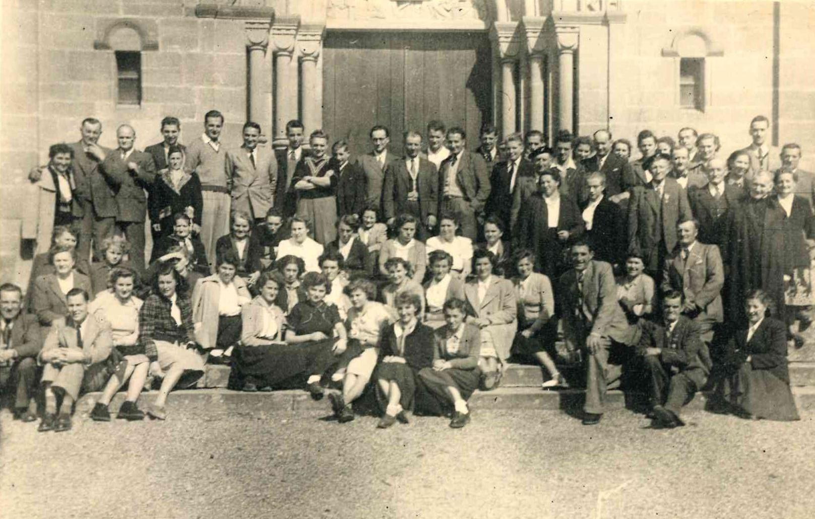 ChoraleSortieDansleHautRhin1952