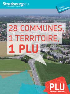 1 PLU unique pour les 28 communes de l'Eurométropole